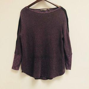 Soft Surroundings Purple Top size PM